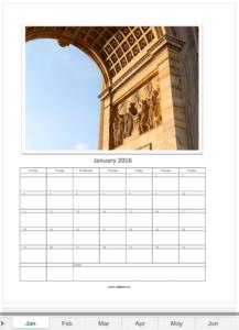 Photocalendar January 2016