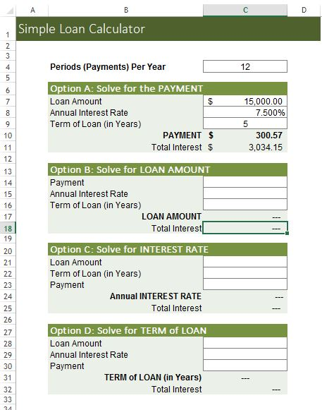 Excel loan repayment template for Student loan repayment excel template