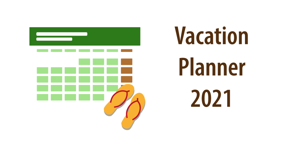 "Header to Article ""Vacation Planner 2021"""