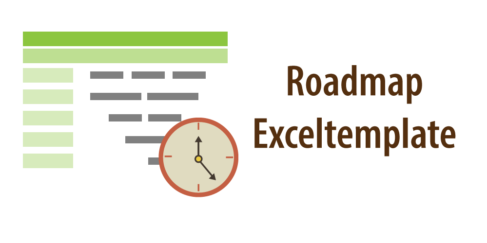 "Headerimage for article ""Roadmap Template for Excel"""
