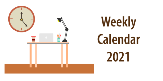 """Header for article """"weekly calendar template for excel"""""""