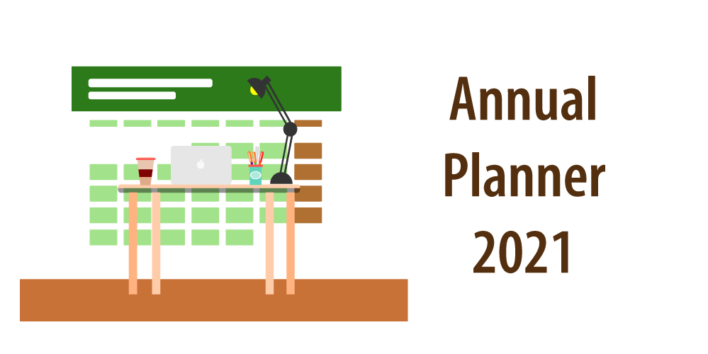 "Header of article ""Planner 2021 Excel Template"""