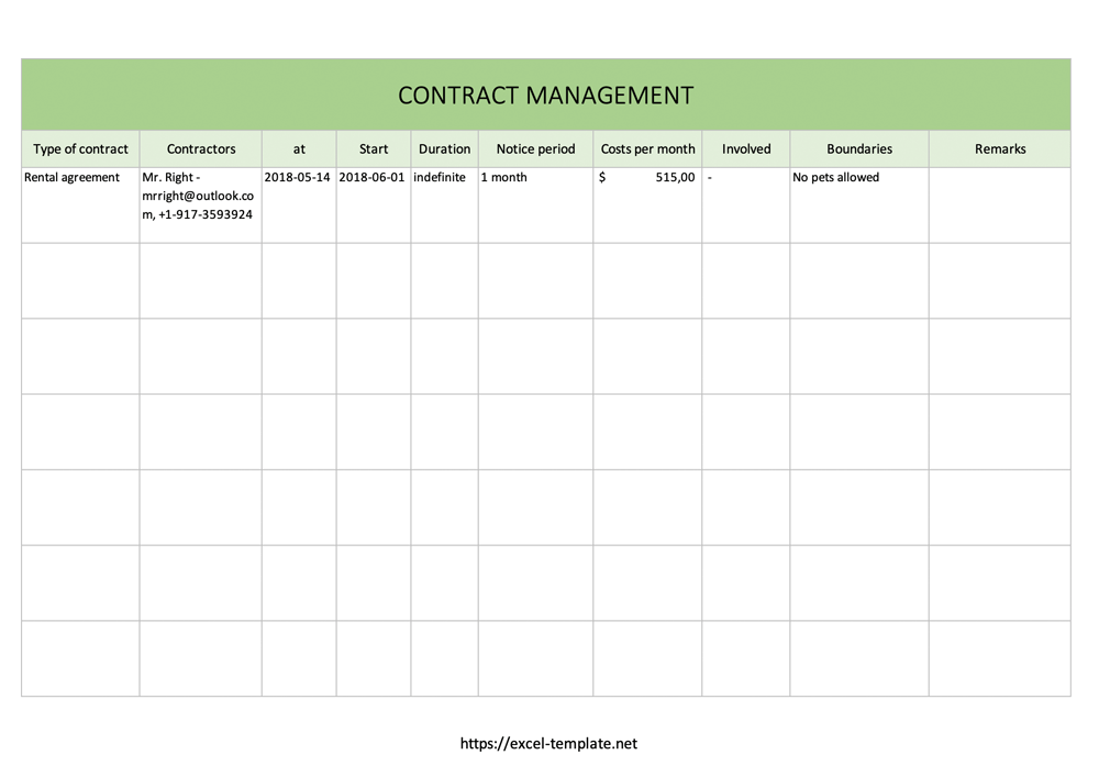 contract-management-excel