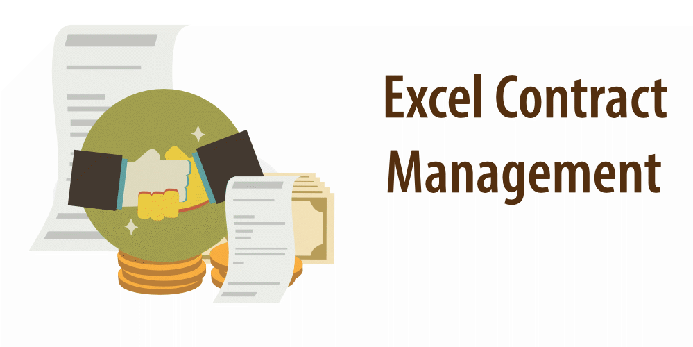 "Article header ""Excel Template Contract Management"""